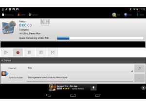 NCH Software RecordPad App
