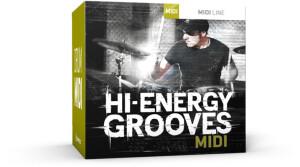 Toontrack Hi-Energy Grooves MIDI