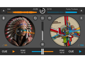 Mixvibes Cross DJ HD 2 App