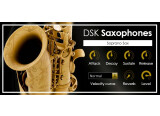 DSK Music offers 2 saxophones in a VST