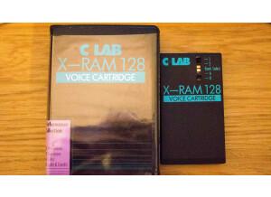 C-Lab Voice Cartridge X-RAM 128