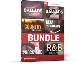 Toontrack Songwriting EZkeys MIDI 6 Pack