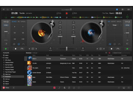 DJay Pro v1.1 on Mac includes a video mode
