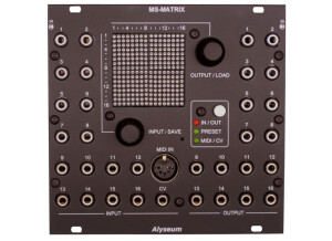 Alyseum MS-Matrix