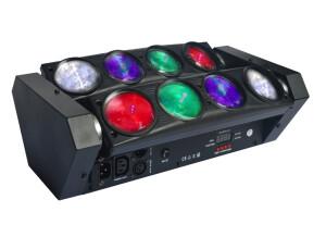Power Lighting Spider Led 96W RGBW Quad