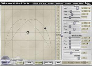 Spin Audio 3D Panner Motion Effects