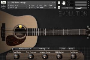 Orange Tree Samples Evolution Acoustic Steel Guitar