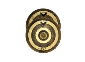 "Velvet Cymbals Imperial HiHat 14"""