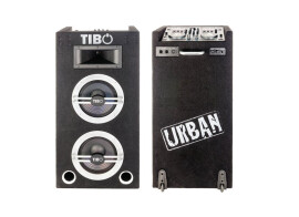 Tibo Urban 500, all-in-one DJ setup