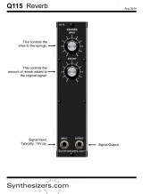 Synthesizers.com Q115 Reverb