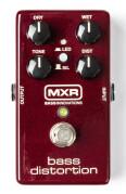Sortie de la pédale MXR Bass Distortion