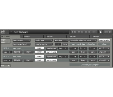 Fairly Confusing Waveforms Note looper/recorder/player multiscript for Kontakt