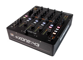New Allen & Heath Xone:43 DJ mixer