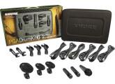 Kit micro pour batterie Shure PGA Drumkit 6 + accessoires