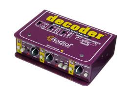 [Musikmesse] Radial Engineering Decoder