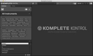 Native Instruments Komplete Kontrol Software