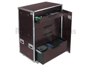 Rythmes & Sons Flight Case Servante 6 tiroirs - Open Road