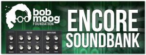MOTU Bob Moog Foundation Encore Soundbank