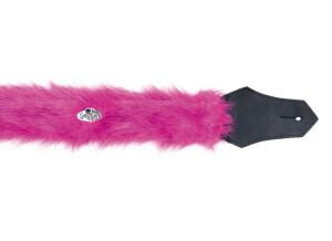 Get'm Get'm Fur Pink Guitar Strap