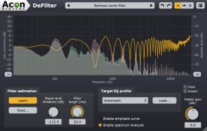 Acon Digital Media DeFilter