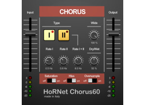 Hornet Plugins Chorus60