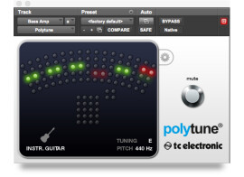 The PolyTune tuner is now a plug-in