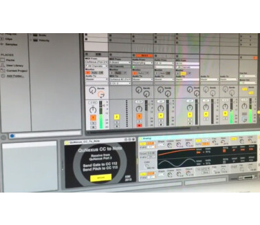 Keith McMillen Instruments QuNexus CC to Note