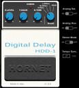 HoRNet modélise un délai numérique pour guitare