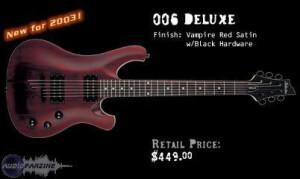 Schecter 006 Deluxe