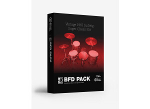 Drumdrops Vintage 1965 Ludwig Super Classic Kit for BFD