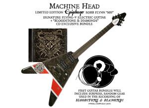 Epiphone Machine Head Bloodstone & Diamonds Flying-V