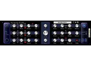 Skrock Music Nautilus Bass Synthesizer