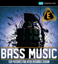 123creative Bass Music presets for Serum