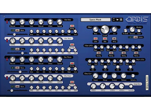Skrock Music Orbis Wavetable Synthesizer