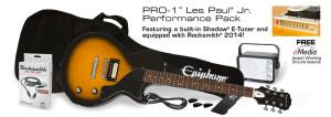 Epiphone PRO-1 Les Paul Jr. Performance Pack