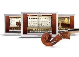 IK adds concert harp to Miroslav Philharmonik 2