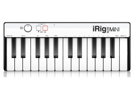 IK Multimedia presents iRig Keys MINI