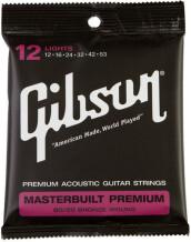 Gibson Masterbuilt Premium 80/20 Bronze