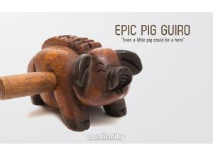 Audiority Epic Pig Guiro