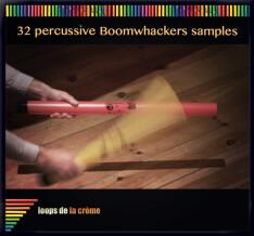 Loops de la Crème 32 Percussive Boomwhackers Samples