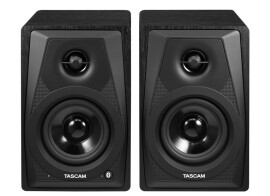 [NAMM] Tascam presents VL-S3BT Bluetooth monitors
