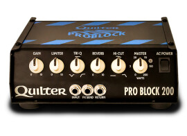 [NAMM] Quilter introduce Pro Block 200