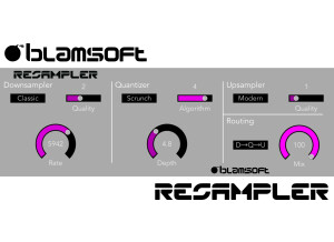 Blamsoft Resampler
