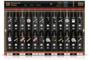 AcousticsampleS Ircam prepared Piano