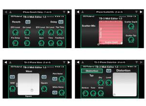 Momo TB-3 Midi Editor for iPhone