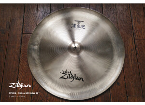 Zildjian Avedis China Boy Low 22""