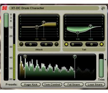 Harrison Consoles XT-DC Drum Character