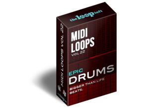 The Loop Loft Epic Drums Vol 2 - MIDI Drum Loops