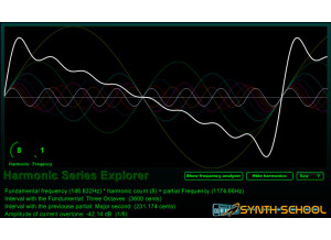 Synth School Harmonic Explorer