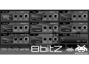 DSK Music DSK DrumZ 8bitZ
